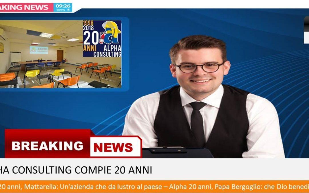 20 Anni di Alpha Consulting