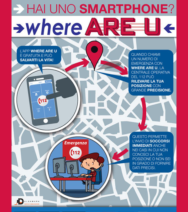 Where Are U: una App che può salvarti la vita